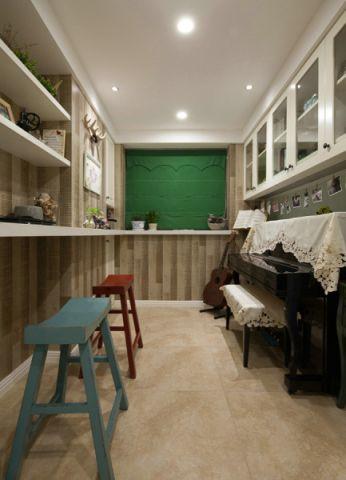 书房窗帘现代风格装饰设计图片