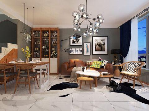 现代风格100平米跃层室内装修效果图