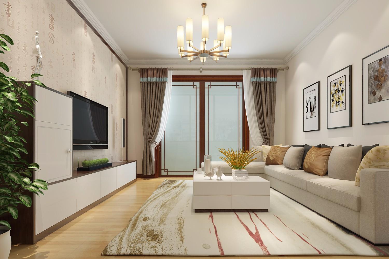 3室1卫2厅93平米中式风格