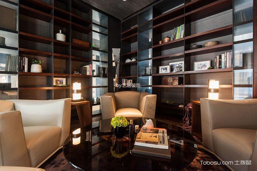 书房米色沙发现代风格装修图片