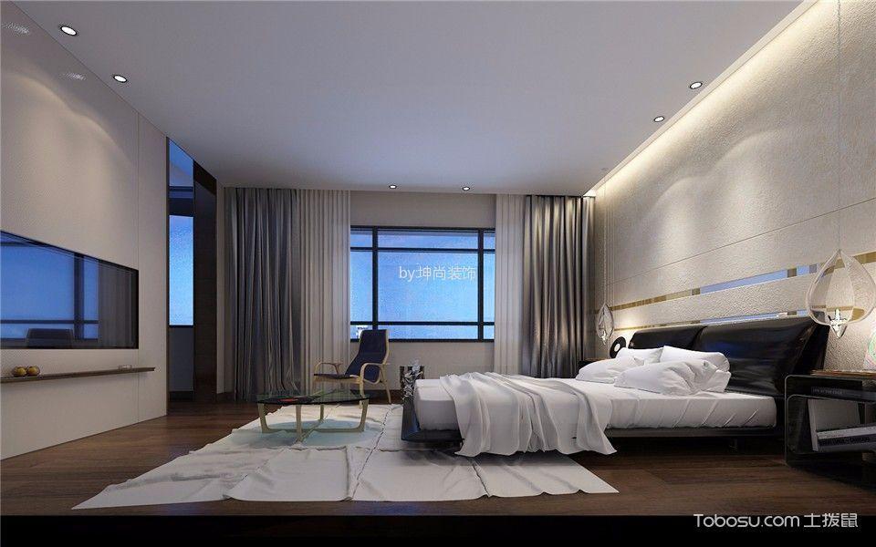 卧室灰色窗帘混搭风格效果图