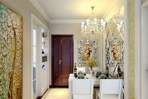 现代简约风格92平米楼房室内装修效果图