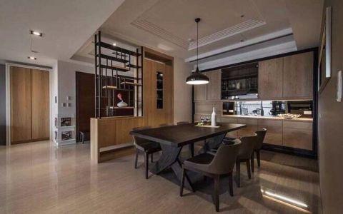 餐厅隔断中式风格装潢效果图