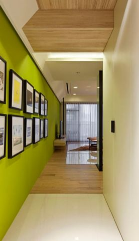 玄关照片墙简约风格效果图
