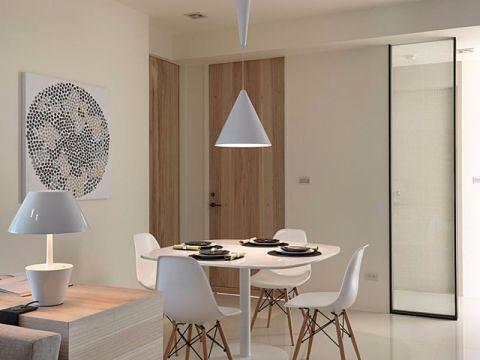简约风格105平米两室两厅新房装修效果图