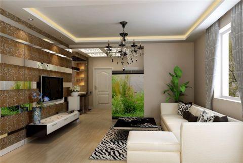简约风格150平米三室两厅新房装修效果图
