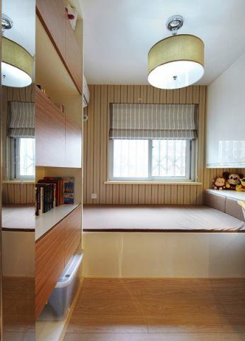 儿童房吊顶现代简约风格装饰效果图