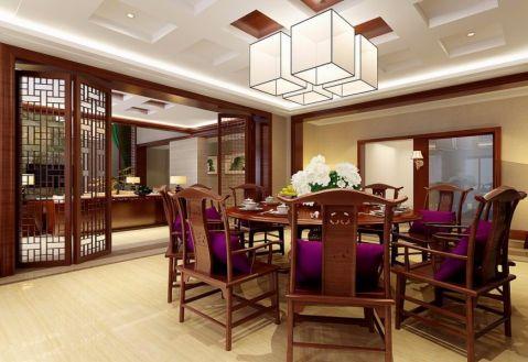 餐厅餐桌古典风格装饰设计图片