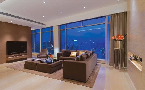 简欧风格180平米复式楼室内装修效果图