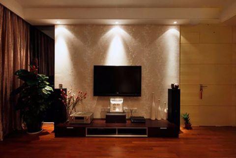 客厅电视柜简约风格装饰效果图