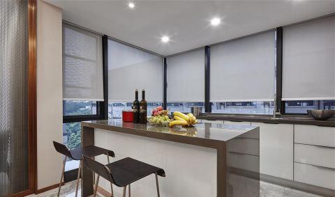 厨房窗帘新中式风格装潢设计图片