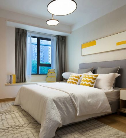 卧室现代风格装修图片