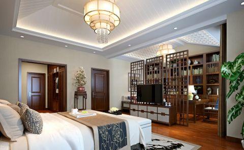 卧室电视柜中式风格装修设计图片