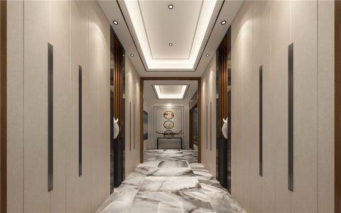 玄关吊顶混搭风格装潢设计图片