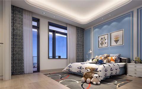 儿童房照片墙混搭风格装潢效果图