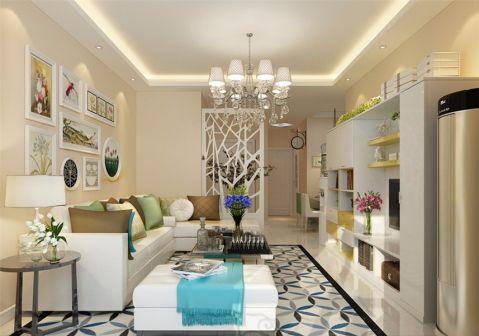 简约风格90平米两室两厅室内装修效果图