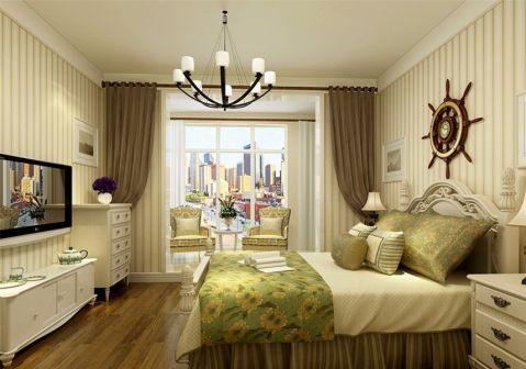 卧室电视柜地中海风格装饰设计图片