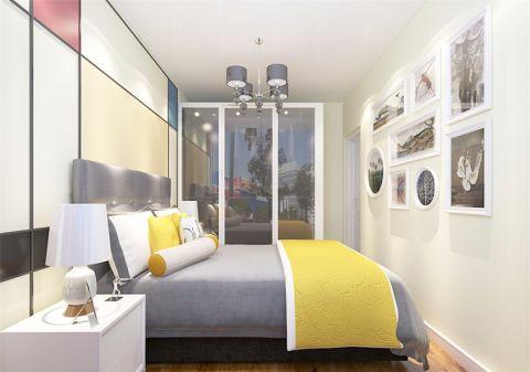 卧室照片墙现代简约风格装潢图片