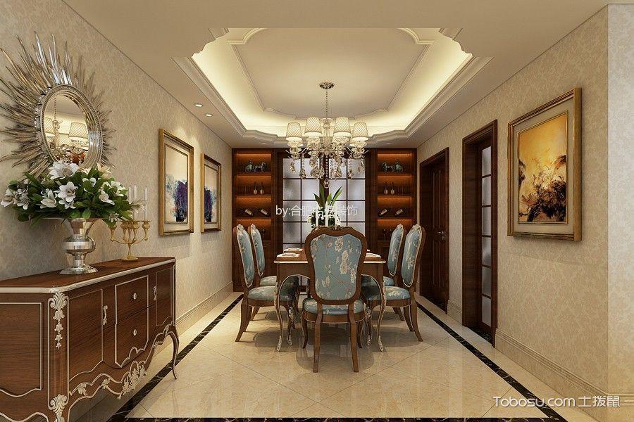 简欧风格190平米复式楼室内装修效果图