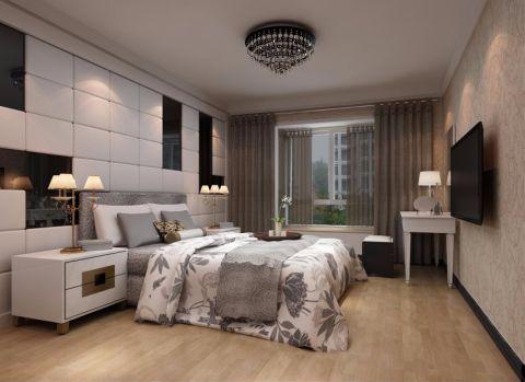 简约风格80平米两室两厅新房装修效果图