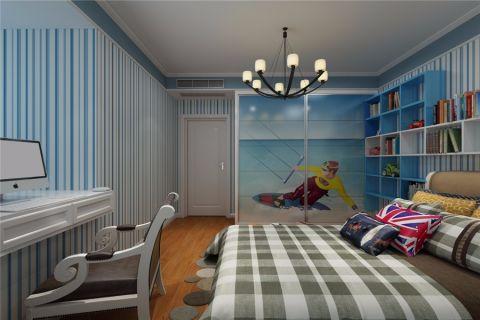 儿童房吊顶美式风格装修效果图