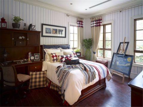 卧室照片墙欧式风格装饰设计图片