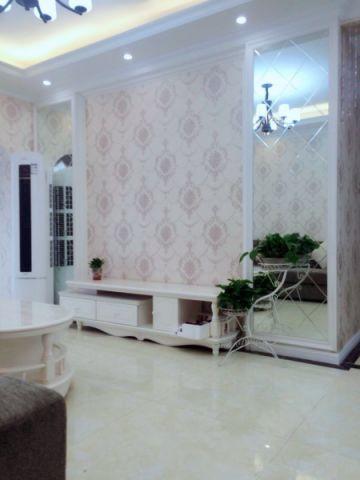 客厅电视柜简欧风格装饰效果图