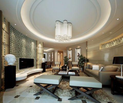 简约风格80平米两室两厅室内装修效果图