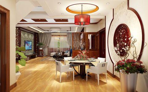 新中式风格100平米两室两厅室内装修效果图