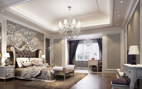 新中式风格120平米公寓新房装修效果图