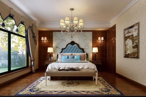 卧室吊顶简欧风格效果图
