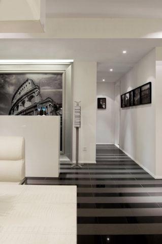 玄关照片墙现代风格装修图片