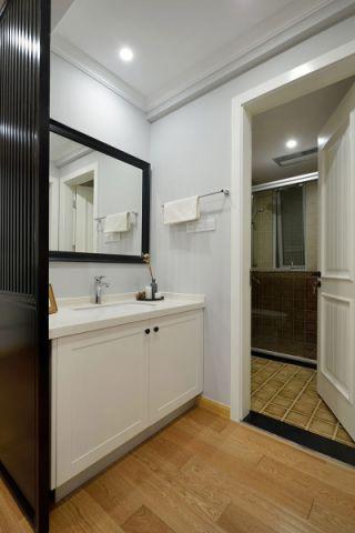 卫生间洗漱台简约风格装潢图片