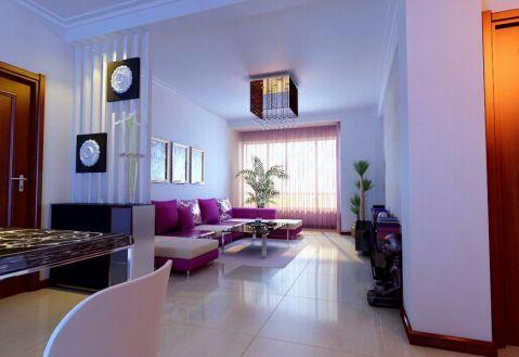 现代风格130平米四室两厅室内装修效果图