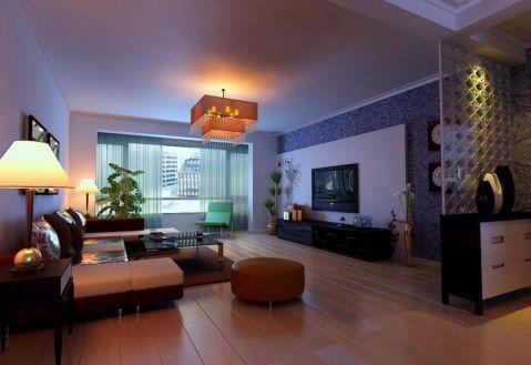 欧式风格110平米两室两厅新房装修效果图