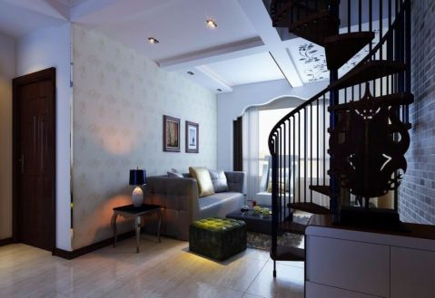 现代风格350平米别墅新房装修效果图