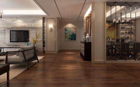 客厅走廊简中风格效果图