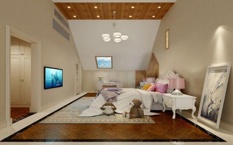 儿童房吊顶欧式风格装饰图片