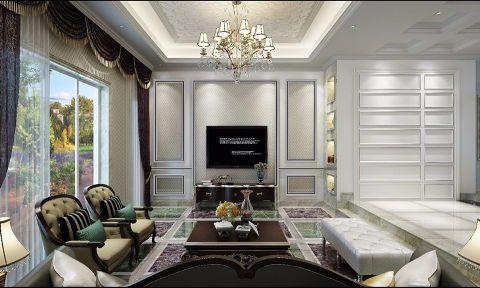 法式风格280平米别墅房子装饰效果图