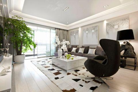 现代风格136平米四室两厅新房装修效果图