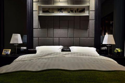 卧室灯具混搭风格装修效果图