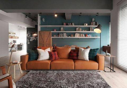 后现代风格140平米三室两厅新房装修效果图