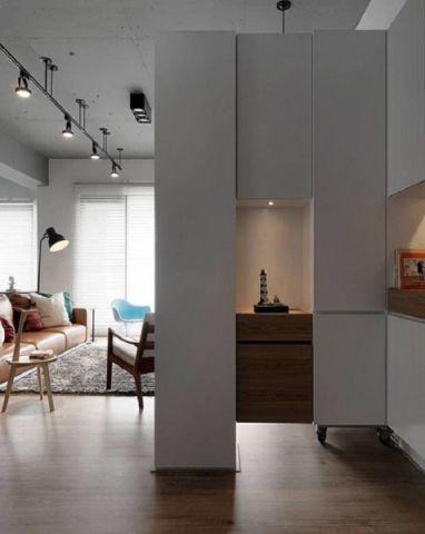 玄关地板砖后现代风格效果图