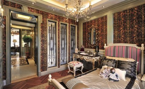 卧室床欧式风格效果图