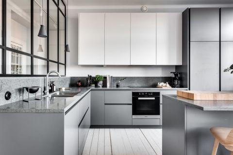 厨房橱柜田园风格装修图片