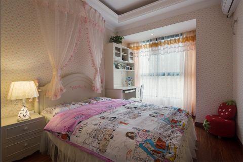 卧室床简欧风格装潢设计图片
