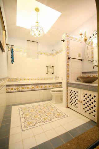 卫生间吊顶地中海风格装潢设计图片