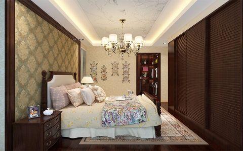 昭祥新城现代中式三居室效果图