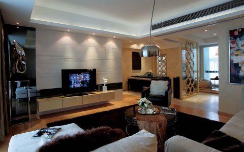 现代风格136平米公寓新房装修效果图