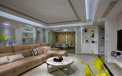 简约风格128平米四室两厅室内装修效果图